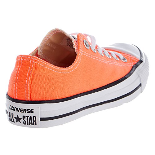 Converse Womens CTAS Ox Hyper Canvas Trainers Hyper Orange