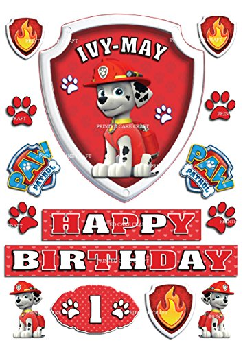 edible-personalised-paw-patrol-marshall-badge-icing-cake-topper-happy-birthday