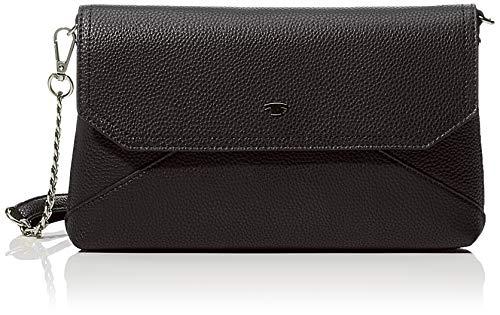 TOM TAILOR Umhängetasche Damen Vittoria, (Schwarz), 28x16x3.5 cm, TOM TAILOR Handtaschen, Taschen für Damen
