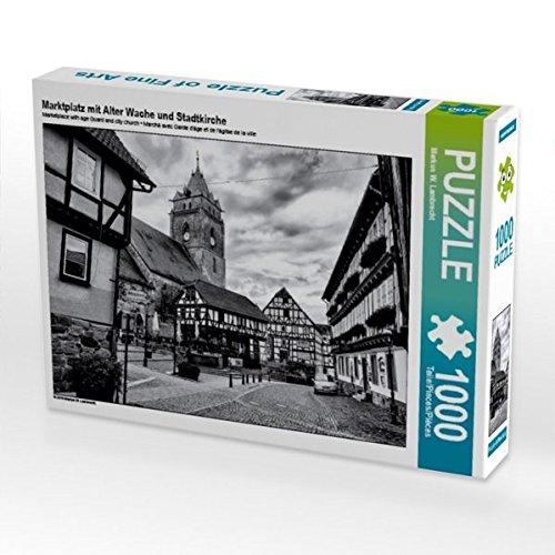 Marktplatz mit Alter Wache und Stadtkirche 1000 Teile Puzzle Quer