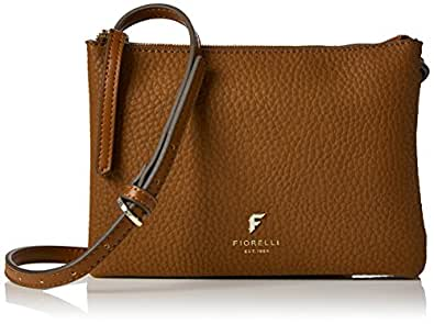 Fiorelli Womens Bunton Cross-Body Bag Brown (Tan)