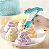 PETRICE New E-z Deco Icing Pen Cookie Cake Pastry Decorating Pen