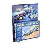 Revell 63999 - Model Set Boeing 747 - 200 im Maßstab 1:450