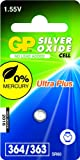 GP Batteries 040UP364C1 Uhren Batterie (SR621SW) schwarz