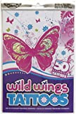 Wild Wings Temporary Tattoos - 50+ tattoos in every pack