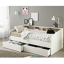 suchergebnis auf f r funktionsbett 90x200 wei. Black Bedroom Furniture Sets. Home Design Ideas