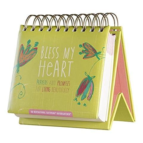 DaySpring Amylee Weeks Bless My Heart, DayBrightener Perpetual Flip Calendar, 366 Days of Inspiration