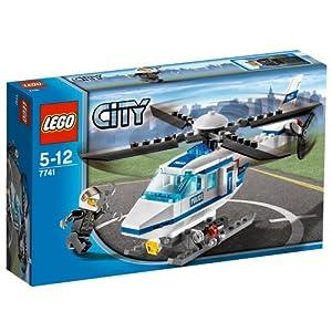 LEGO City 7741 - Helicóptero de Policía de LEGO