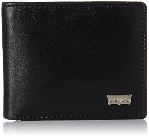 Levi's Black Men's Wallet (21573-0001)