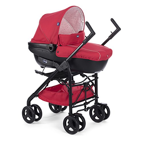 Chicco Trio Sprint Black Poussette Red Passion image3