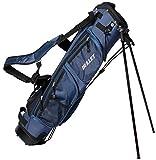 Borsa per il trasporto Golf Pancelbag per 6 racchette da ping pong in blu con custodia semi Set di protezione e tracolla.