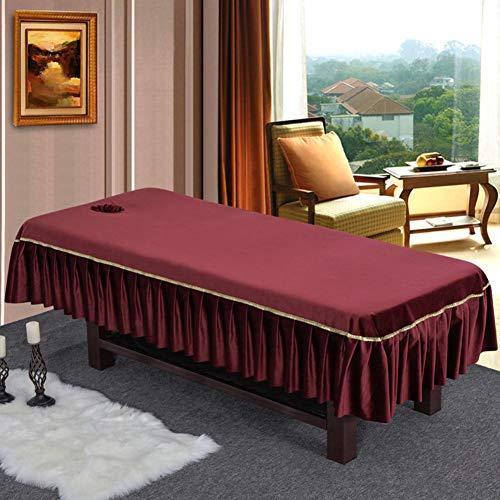 gesdecke,Volltonfarbe Lochbleche,Beauty Salon Spa Massage-blätter-b ()