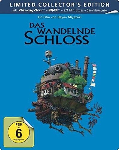 Das wandelnde Schloss - Steelbook  (+ DVD) [Blu-ray] [Limited Collector's Edition]