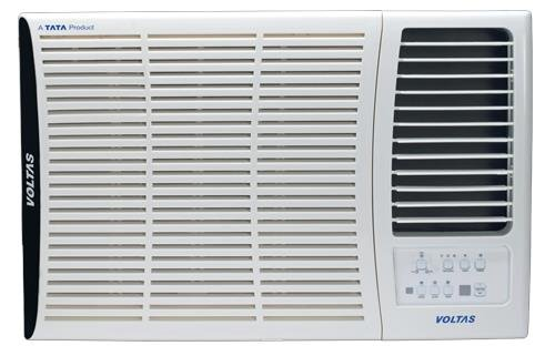 Voltas 183 DY Delux Y Series Window AC  1.5 Ton 2 Star Rating White Copper