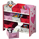 Kesper 17726 - Estantería infantil, color rosa