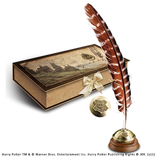 Harry Potter - Hogwarts Writing Quill with Ink Pot