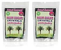 Ammi Samayal Palm Sugar Crystals Panangkarkandu, 100 Grams (Pack of 2)