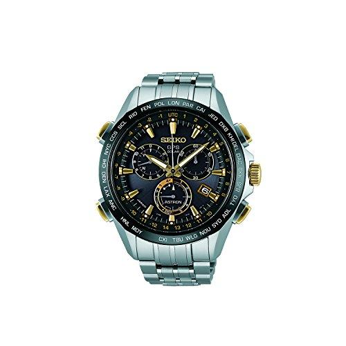 Seiko SSE007J1 Astron GPS Weltzeituhr Solar Herrenchronograph Armbanduhr