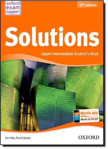 Solutions. Upper-Intermediate. Student's Book (Miscellaneous) - 9780194552899 (Solutions Second Edition) por Varios Autores