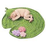 Aivtalk - Disfraces Ropa de Fotos Trajes de Fotografía de Punto de Ganchillo para Bebés...