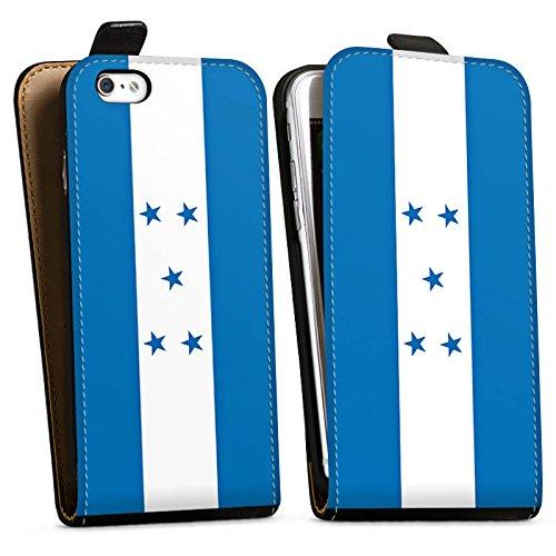 Apple iPhone X Silikon Hülle Case Schutzhülle Honduras Flagge Fußball Downflip Tasche schwarz