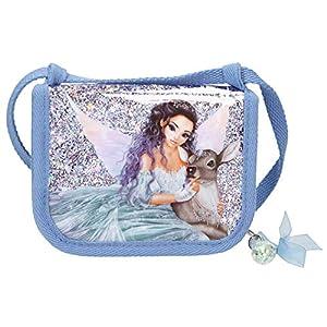 Depesche 10697 - Bolsa de Pecho, Fantasy Model Iceprincess, Aprox. 13 x 10 x 2 cm, Color Azul.