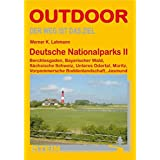 Deutsche Nationalparks 2: Berchtesgaden, Bayrischer Wald, Sächsische Schweiz, Unteres Odertal, Müritz, Vorpommersche Boddenlandschaft, Jasmund (OutdoorHandbuch)