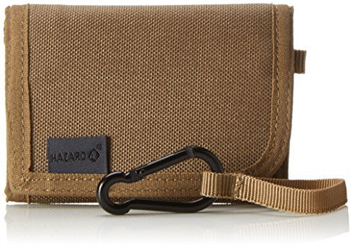 Hazard 4 Geldbeutel Wafer Slim Tri Fold Wallet, Coyote, 11 x 8 x 1.5 cm, 0.1 Liter, WLT-WFR-CYT (Wallet Tri-fold Logo)