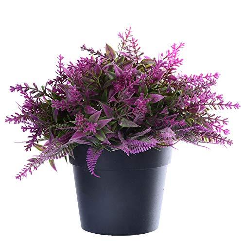 Rabatt Party Dekorationen - AchidistviQ 1 Blumenstrauß künstliche Topfpflanze Kunststoff