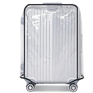 YHLVE PVC Trunk Protector Accessoires à Bagages Transparent étanche Valise Housse Anti-Poussière