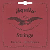 Aquila 88U - Juego de cuerdas para ukelele tenor en Sol (grave), Do, Mi, La