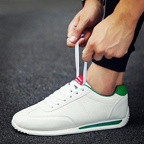 XIAOLIN New Fashion Uomo genuino per scarpe da uomo casual ( Colore : 04 , dimensioni : EU43/UK9/CN44 ) 03