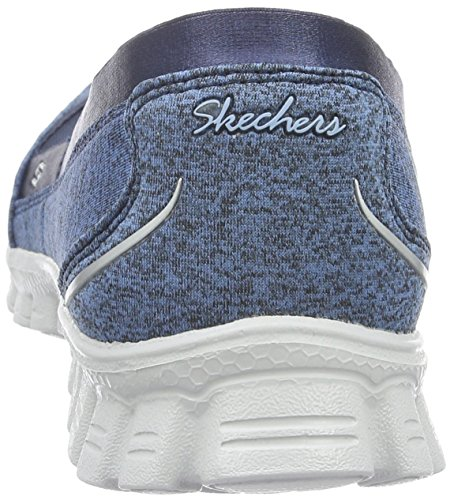 Skechers Damen Ez Flex 2 Fascination Geschlossene Ballerinas Blau (Nvy)