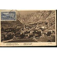 Postal TARJETA MAXIMA. ANDORRA LA VELLA - Capital de les Valls.
