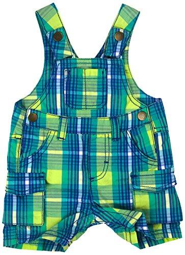 Kanz Baby - Jungen Latzhosen 1512601, Kariert, Gr. 56, Mehrfarbig (y/d check|multicolored 0002)