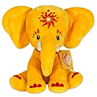 Pink Chillies 25cm Etana Cuddly Elephant Plush Toy