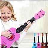 E Support TM Instrument de musique Kid Enfant Guitare acoustique pour débutant 6cordes pour guitare Rose Mini 65cm rose