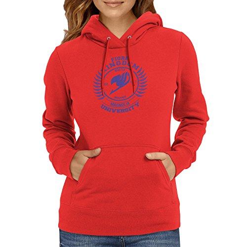 TEXLAB - Fiore Kingdom - Damen Kapuzenpullover, Größe M, rot