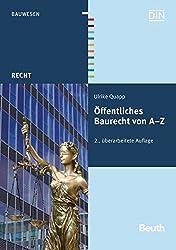 ÖFfentliches Baurecht Von A - Z (Beuth Recht)