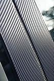 3D Carbon Zierleisten Set Car Wrapping Folie für den Aussenbereich B C D Säule Ihres Fahrzeuges siehe Details von Wizuals©
