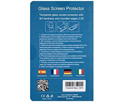 PREMYO Sony Xperia Z3 Panzerglas. Sony Xperia Z3 Displayschutzfolie mit Härtegrad 9H und abgerundeten Ecken 2,5D. Sony Xperia Z3 Schutzglas - 8