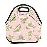 Borsa portatile multifunzionale del pane del fatato del pane, borsa della scatola di pranzo per l'ufficio di lavoro di viaggio della scuola