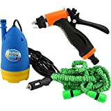 4tens Portable High Pressure Washer With Water Gun + 10m Special Hose Pipe + Submersible Pumps