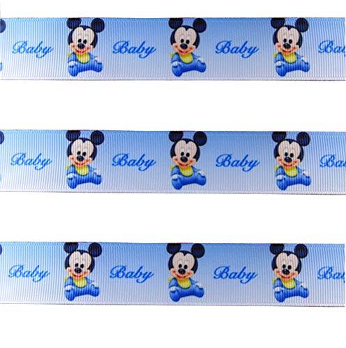 Baby Mickey Mouse Disney Band für Baby-Duschen, Kuchen, Taufen, Geschenkpapier, Presents ()
