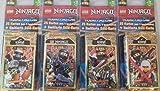 Lego Ninjago Serie 4 Trading Card Game alle 4 Blister komplett LE13 - LE16 - Blue Ocean