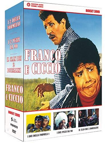 Franco e Ciccio - I due della formula uno + I due pezzi da 90 + Il clan dei 2 Borsalini [3 DVDs] [IT Import]