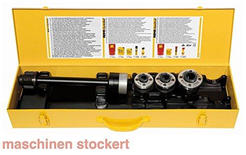 Rems Schneidkopf S-Set 3/8-3/4 Zoll mit Verlängerung, 520025 Patent 3 3/4