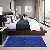 #7: Glamkaart Both Side Reversible Blue Rug 2x5 Feet