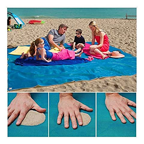 Huplue Sable Proof Couverture, Sable Tapis de plage gratuit – La saleté