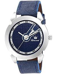 Louis Weil Analogue Blue Dial Men's Watch - ELITE LW-GR674 BLUE